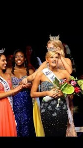 Amanda Sasek was crowned Miss Kansas June 7, 2014.