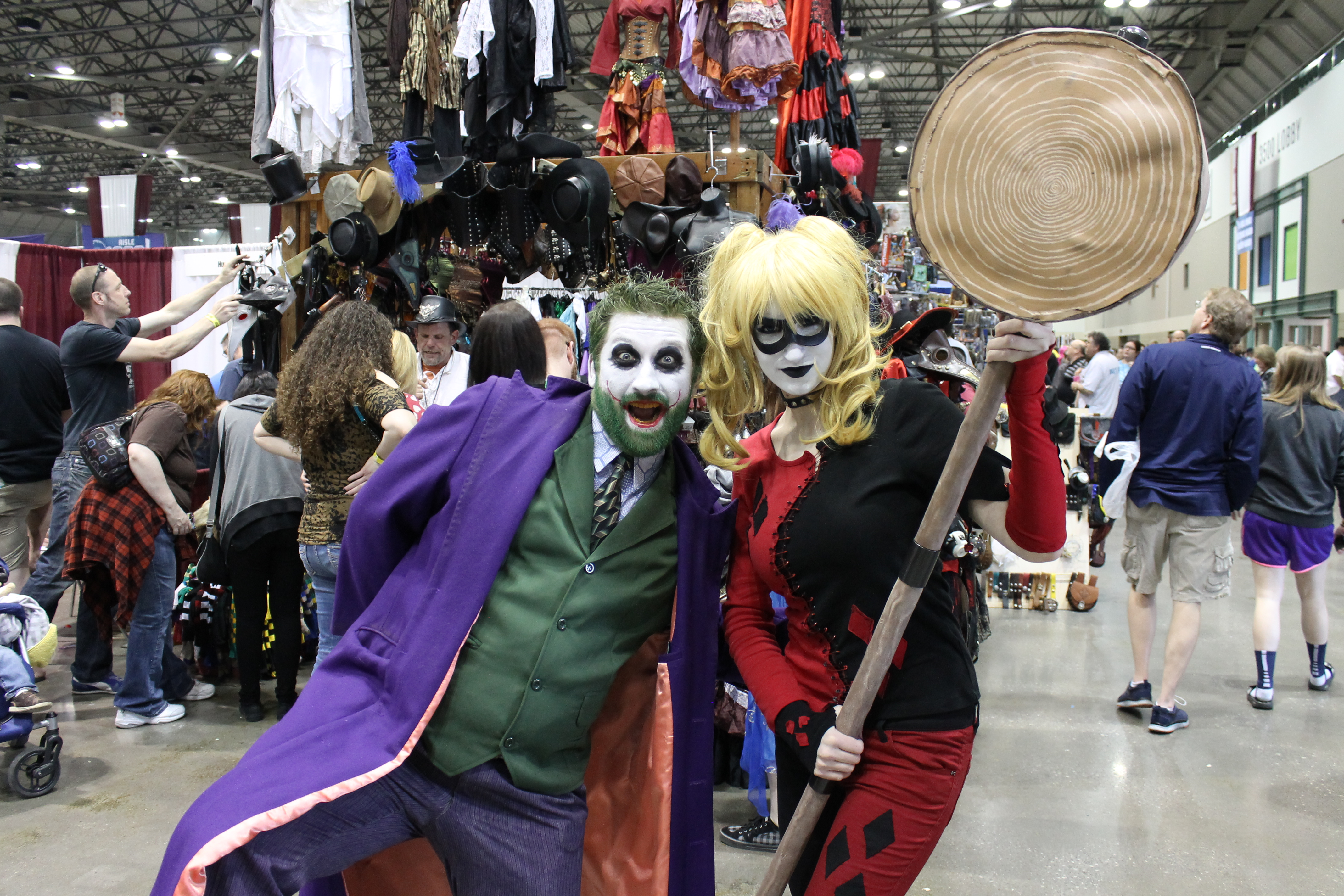 The sights and sounds of Planet Comicon 2015