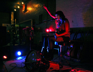 Molly Gene performs at The Bay, at its new location at 130 W. Pine St., July 18.