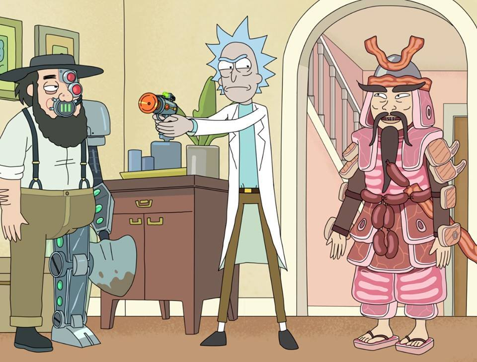 "REVIEW: Ricky and Morty ""Total Rickcall"""