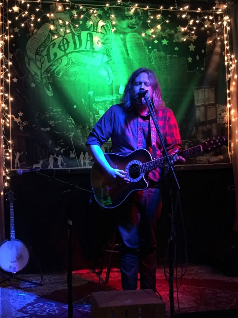 Tommy Donoho at Coda during Local Artist Appreciation Week.