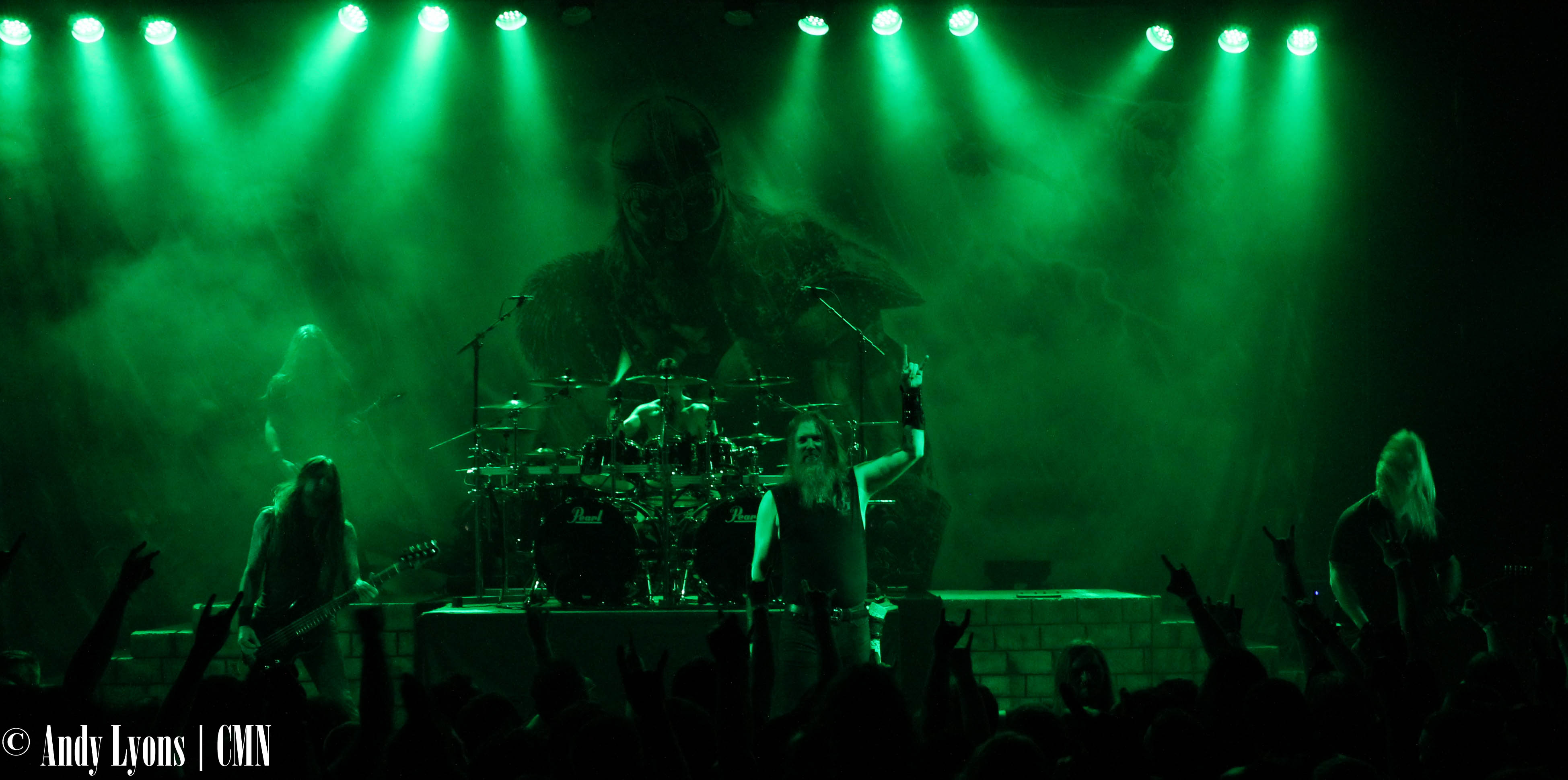Amon Amarth invades the Granada