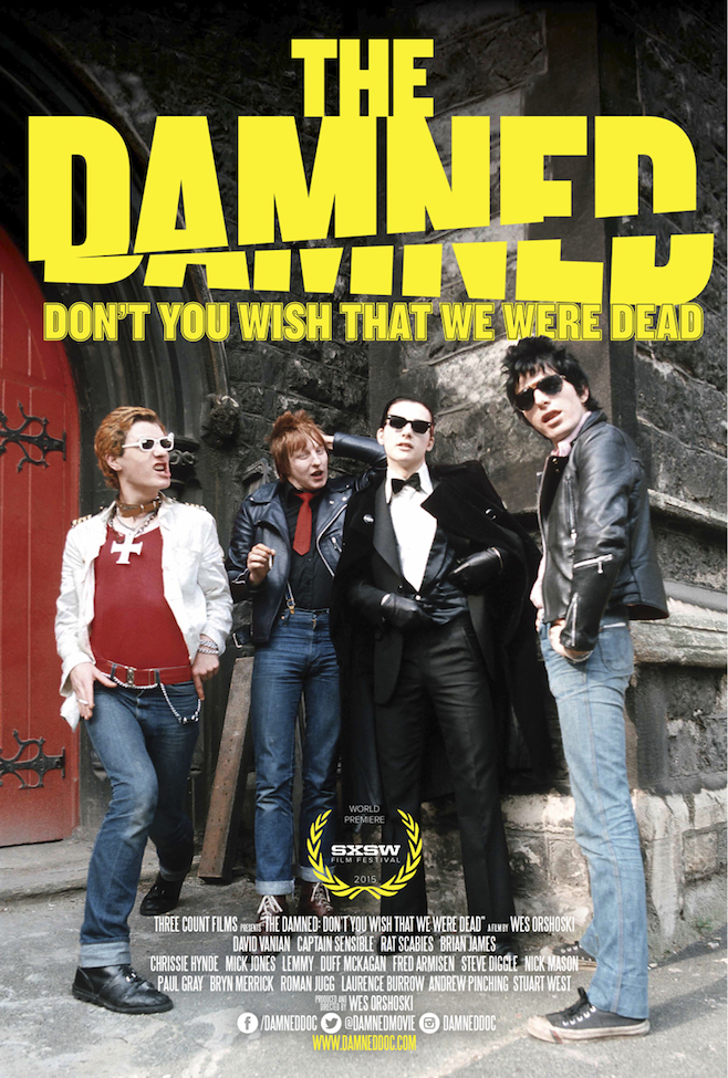 REVIEW: The Damned: Don't You Wish That We Were Dead