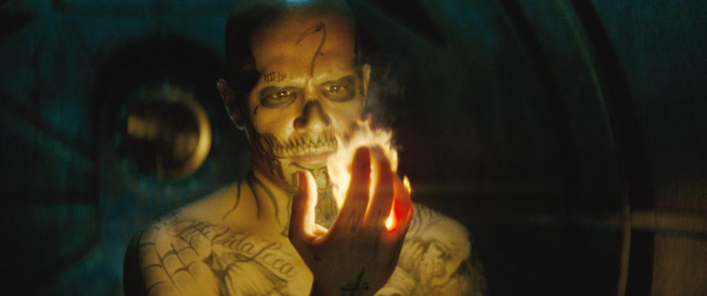 "Jay Hernandez as Diablo in Warner Bros. Pictures' action adventure ""Suicide Squad,"" a Warner Bros. Pictures release. Courtesy of Warner Bros. Pictures/ TM & (c) DC Comics © 2016 WARNER BROS. ENTERTAINMENT INC. AND RATPAC-DUNE ENTERTAINMENT LLC"