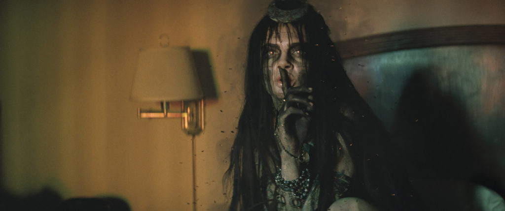 "Cara Delevingne as Enchantress in Warner Bros. Pictures' action adventure ""SUICIDE SQUAD,"" a Warner Bros. Pictures release. Photo Credit: Courtesy of Warner Bros. Pictures/ TM & © DC Comics © 2016 WARNER BROS. ENTERTAINMENT INC. AND RATPAC-DUNE ENTERTAINMENT LLC"
