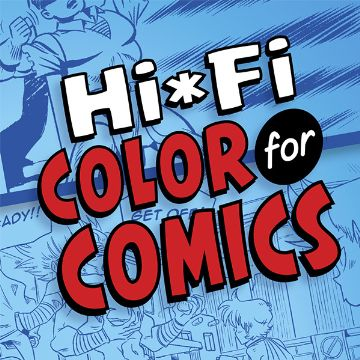 Hi-Fi Color for Comics teaches readers how to use Photoshop when coloring comics.
