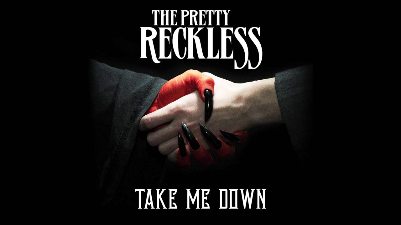 "The Pretty Reckless debut video for ""Take Me Down"""