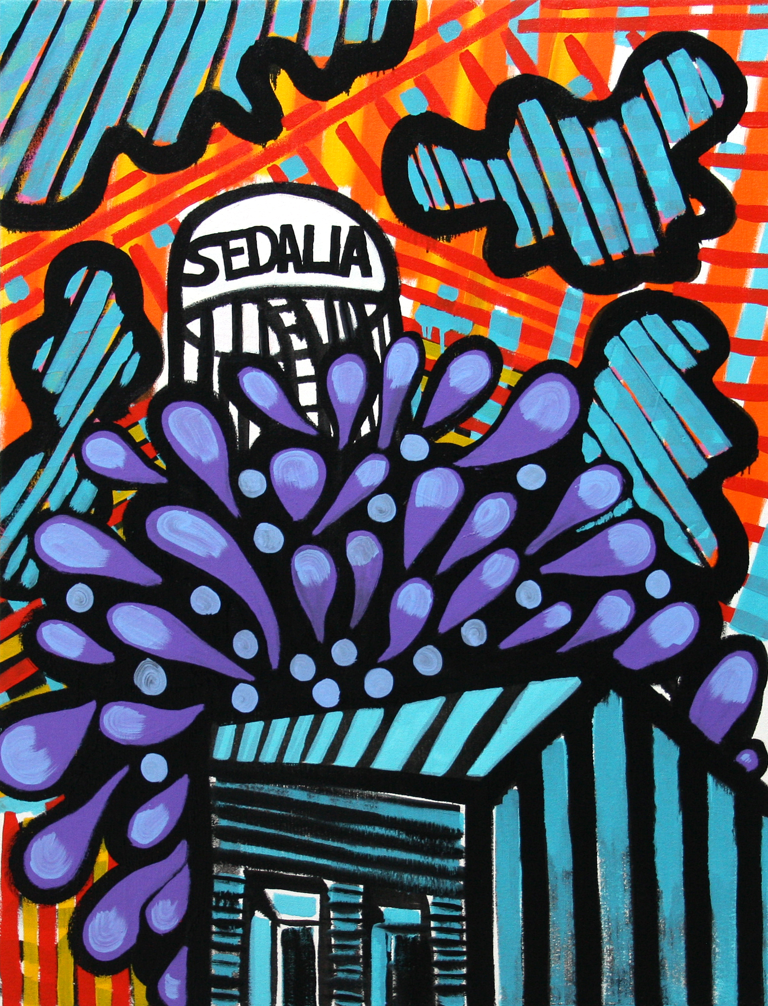 Sedalia painter opening exhibition in St. Louis next week