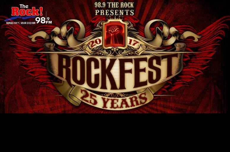 98.9 The Rock's Rockfest 2017 lineup announced