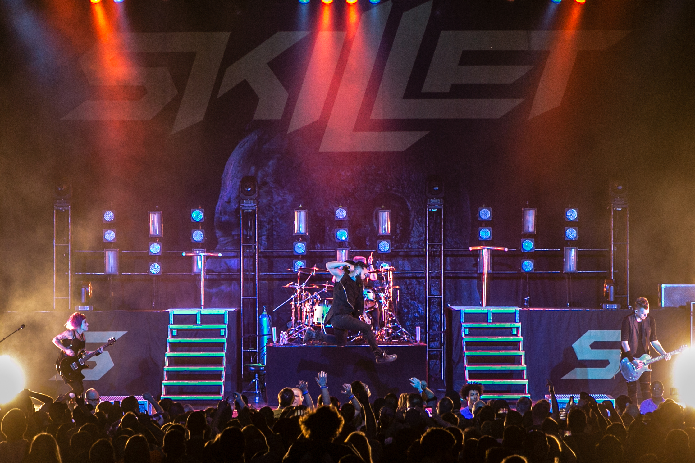 PHOTO GALLERY: Skillet unleashes on Kansas City