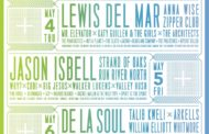 Middle of the Map Fest 2017 lineup announced, featuring De La Soul, Jason Isbell & Lewis Del Mar