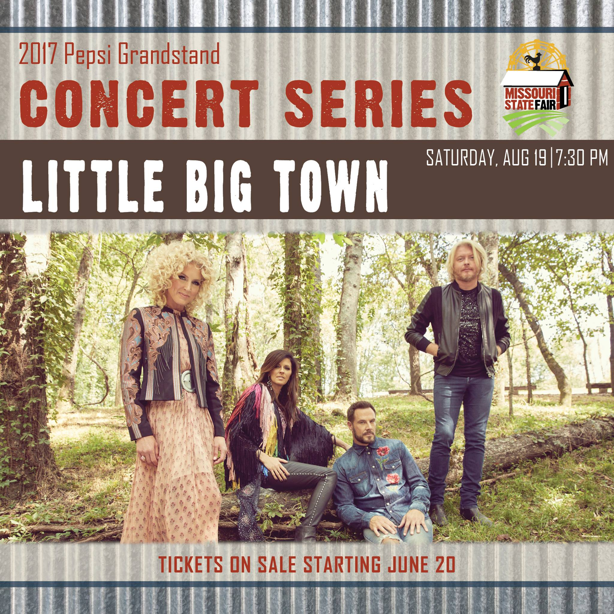 Missouri State Fair announces Little Big Town to perform