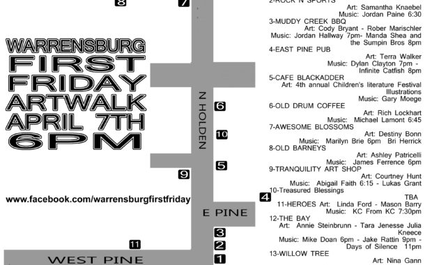 Warrensburg Arts Collective brings art downtown with First Fridays Art Walk