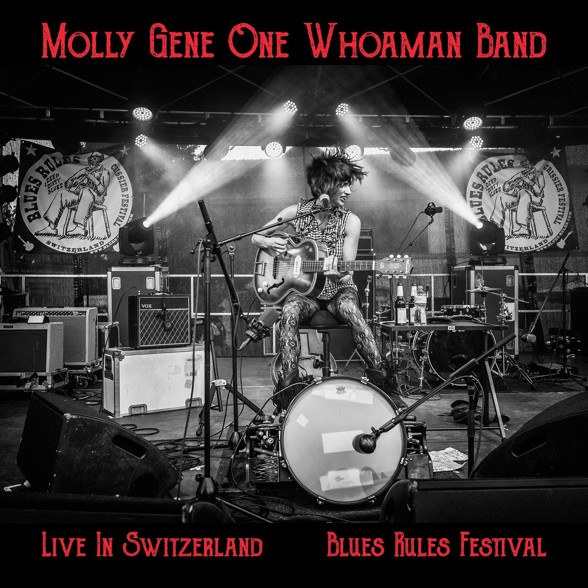 ALBUM REVIEW: Molly Gene One Whoman Band's 'Live in Switzerland: Blues Rules Festival'
