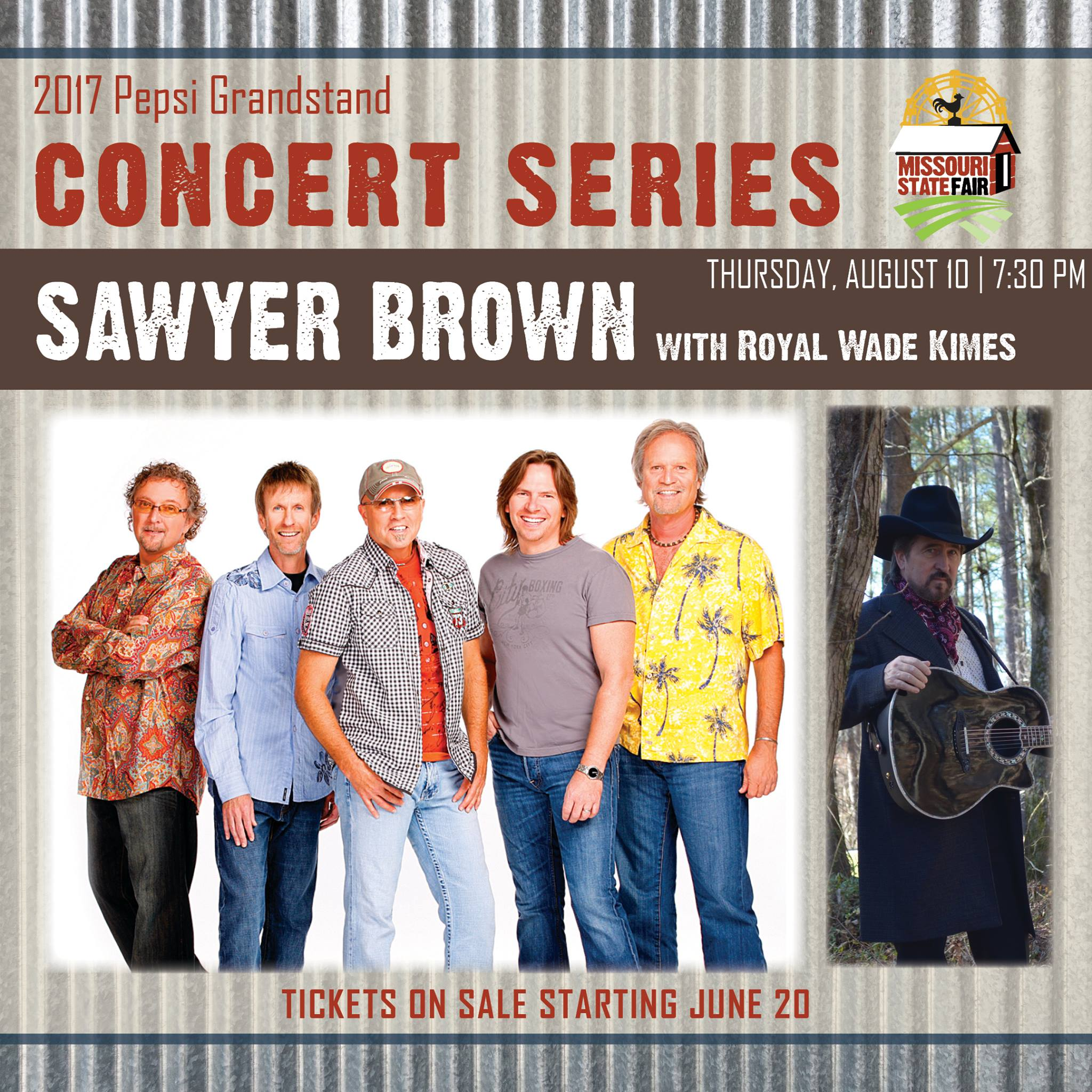 Sawyer Brown to open Missouri State Fair