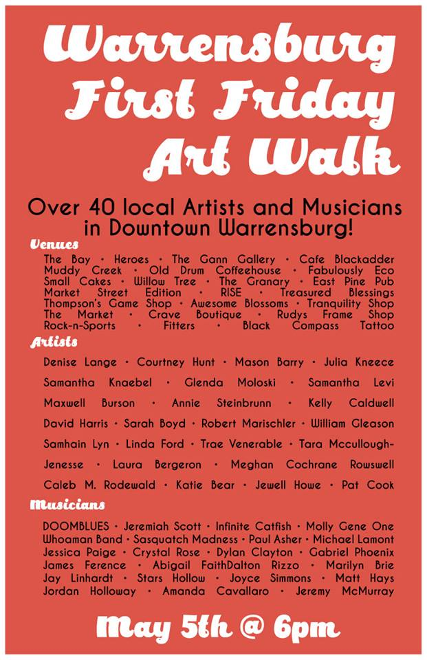 Warrensburg First Fridays Art Walk grows with second month
