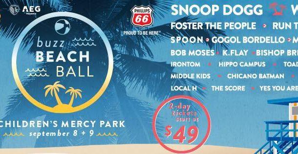 Snoop Dogg, Weezer to headline 96.5's Buzz Beach Ball in Kansas City