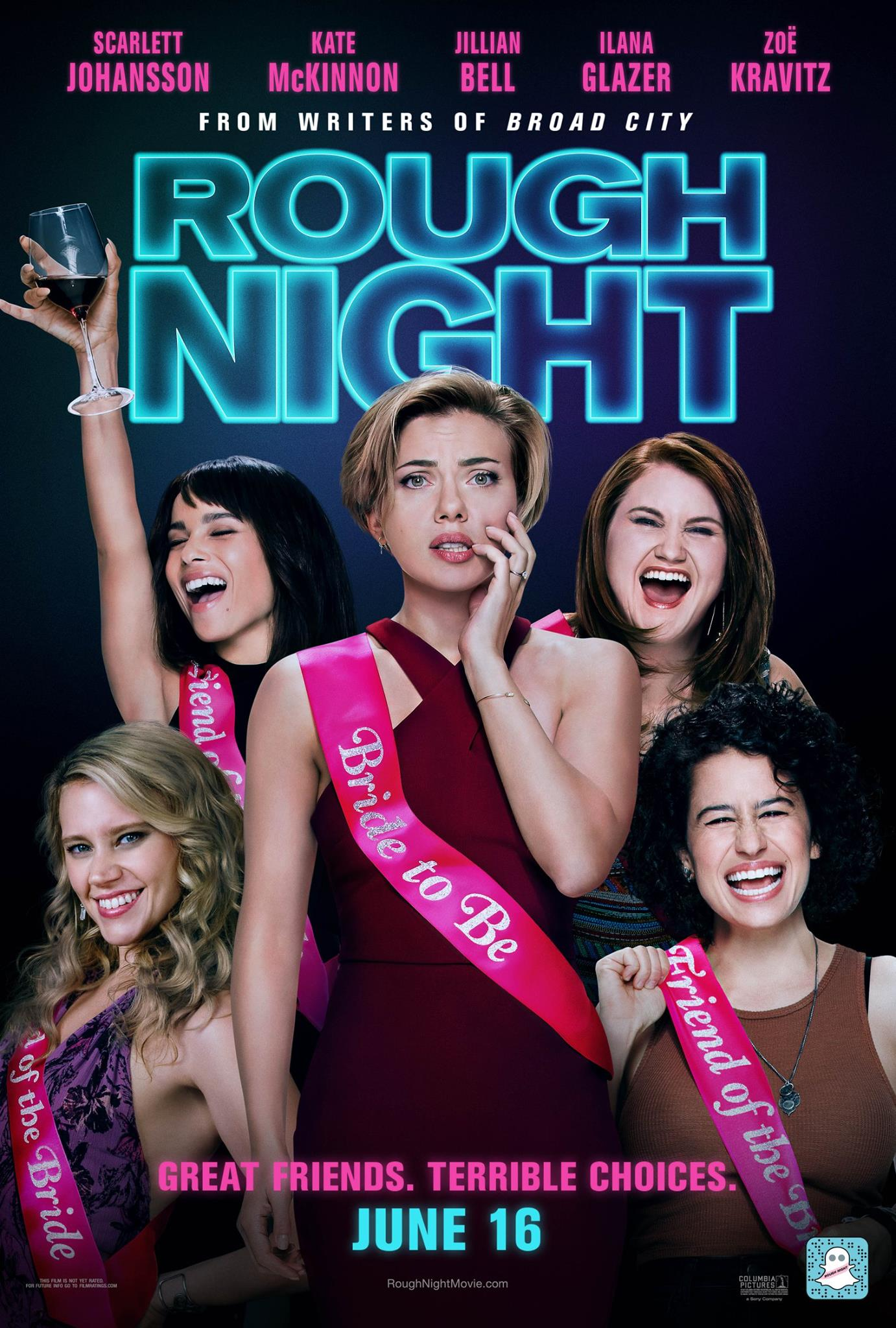 'Rough Night' delivers women-centric, sex positive comedy