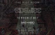 Sidewise plans fan-sided show at The Riot Room