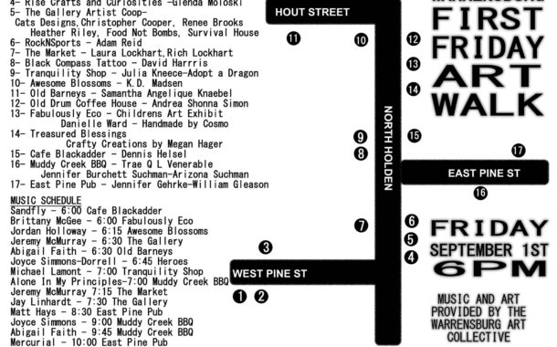 Warrensburg First Friday Art Walk part of fun-filled weekend