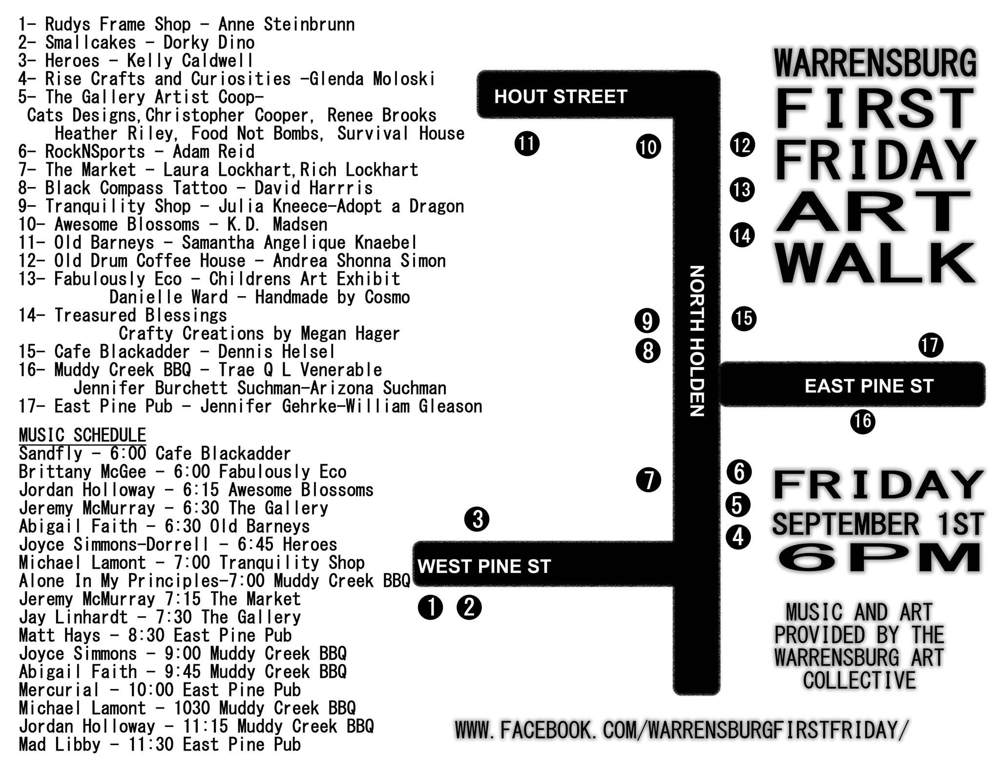 Warrensburg First Friday Art Walk part of fun-filled weekend