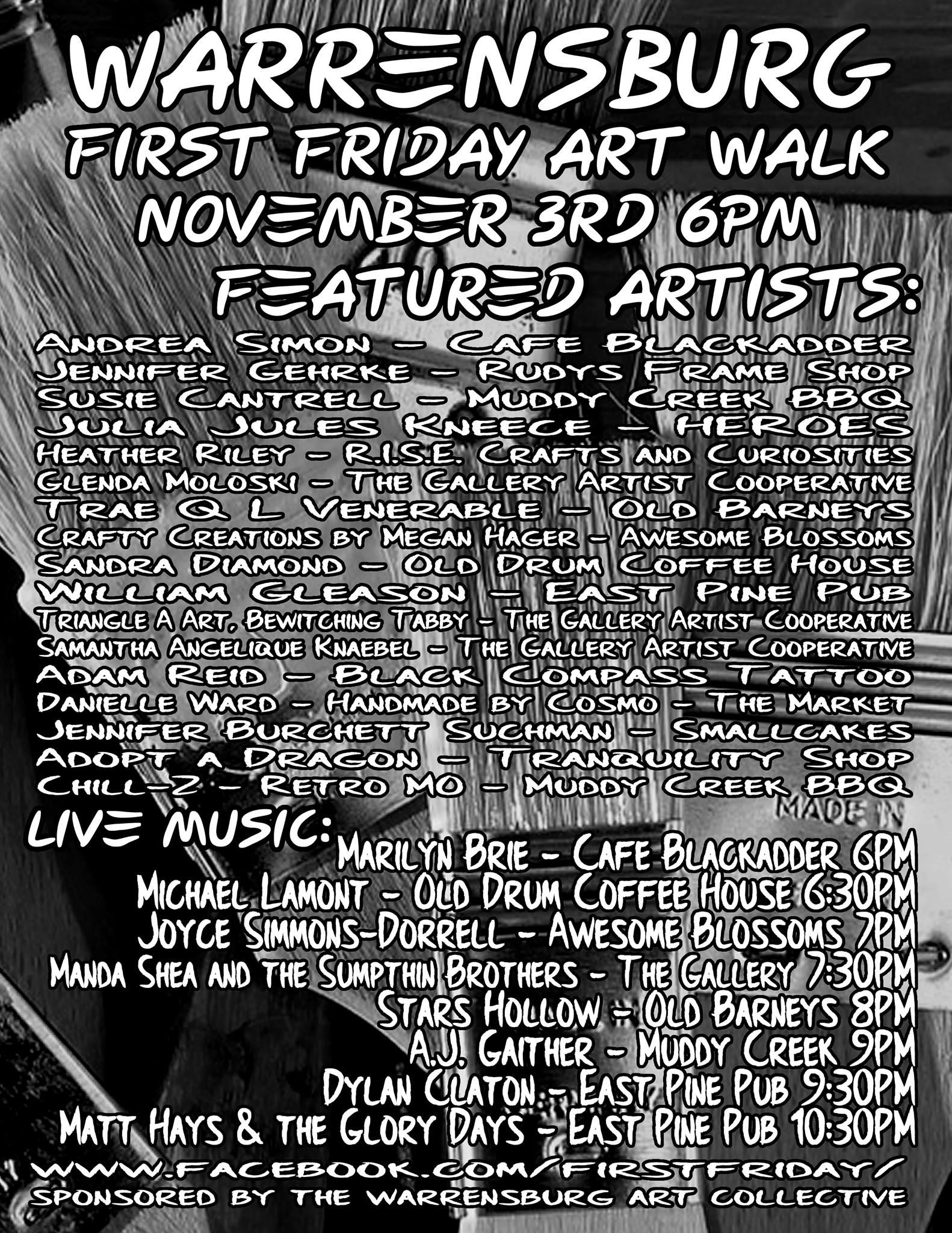 Warrensburg First Fridays Art Walk pushes into fall