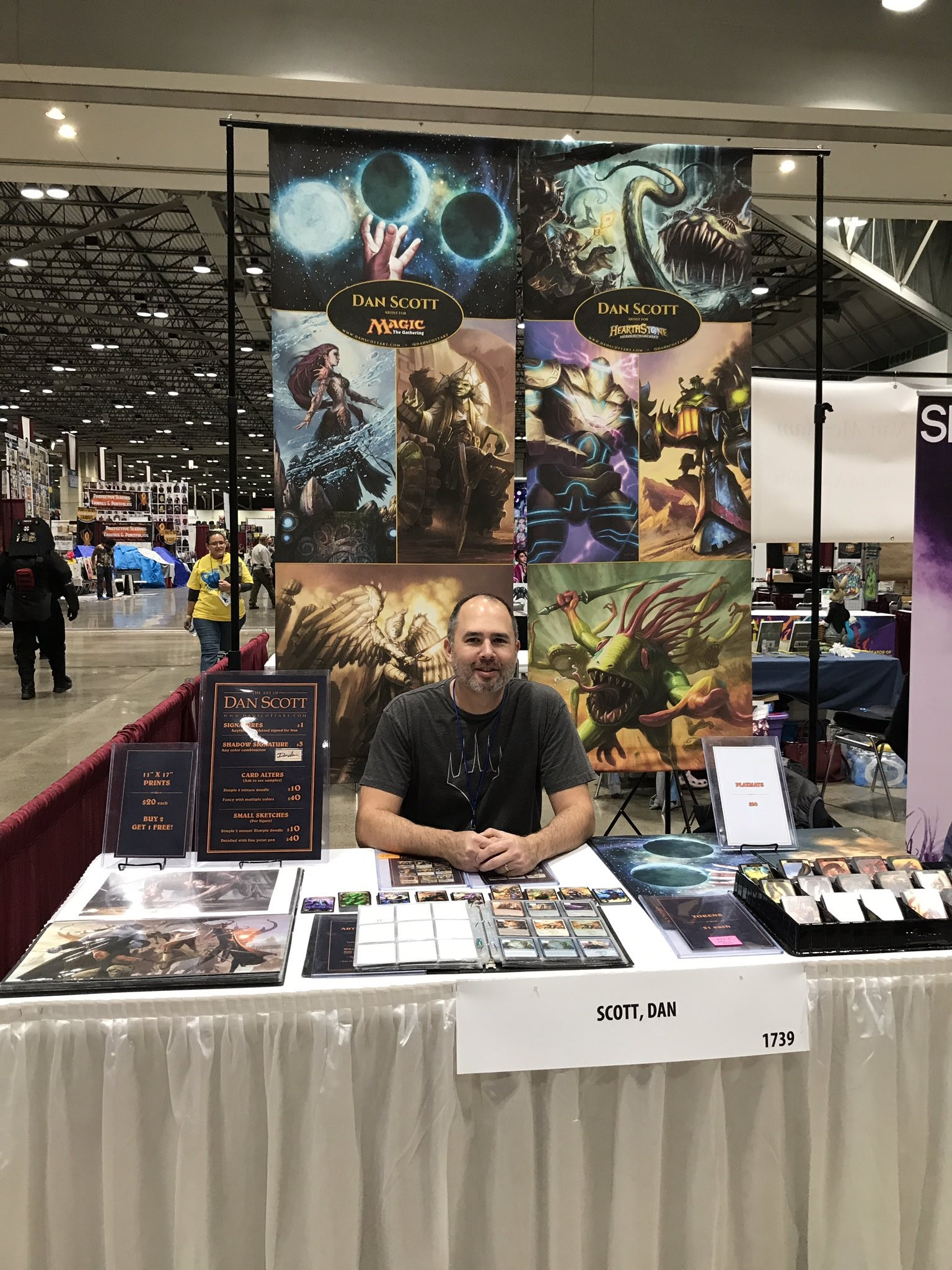 UCM alumus Dan Scott showcases 'Magic: The Gathering' art at Planet Comicon