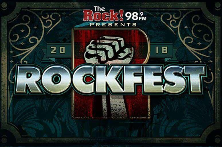 98.9 The Rock announces 2018 Rockfest lineup