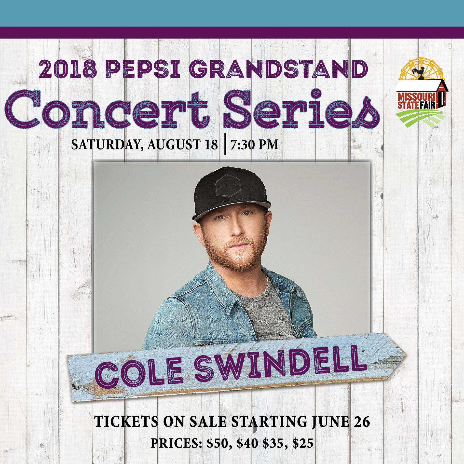 Missouri State Fair announces Cole Swindell show Aug. 18