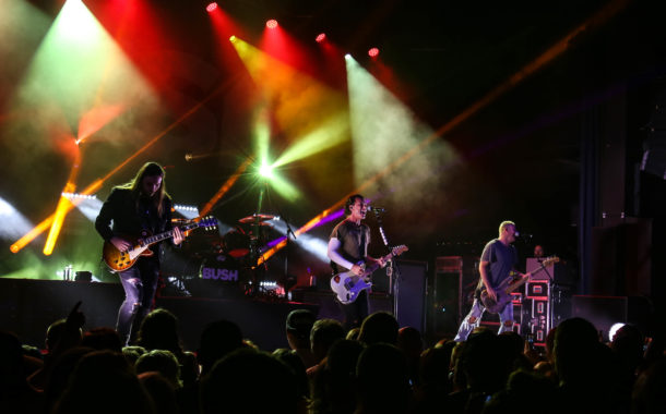 Bush plays intimate show at VooDoo Lounge