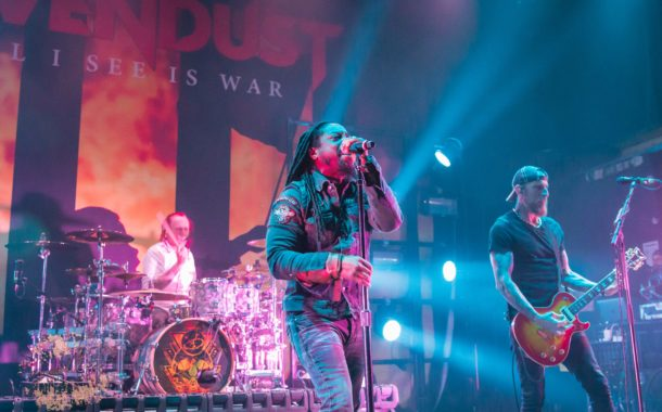 Sevendust heats up the Blue Note