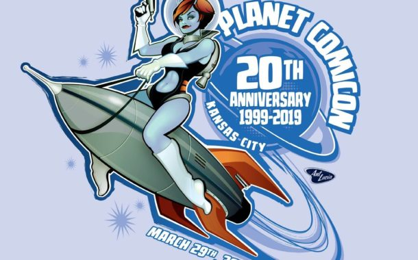Planet Comicon taps Ant Lucia for 20th Anniversary logo