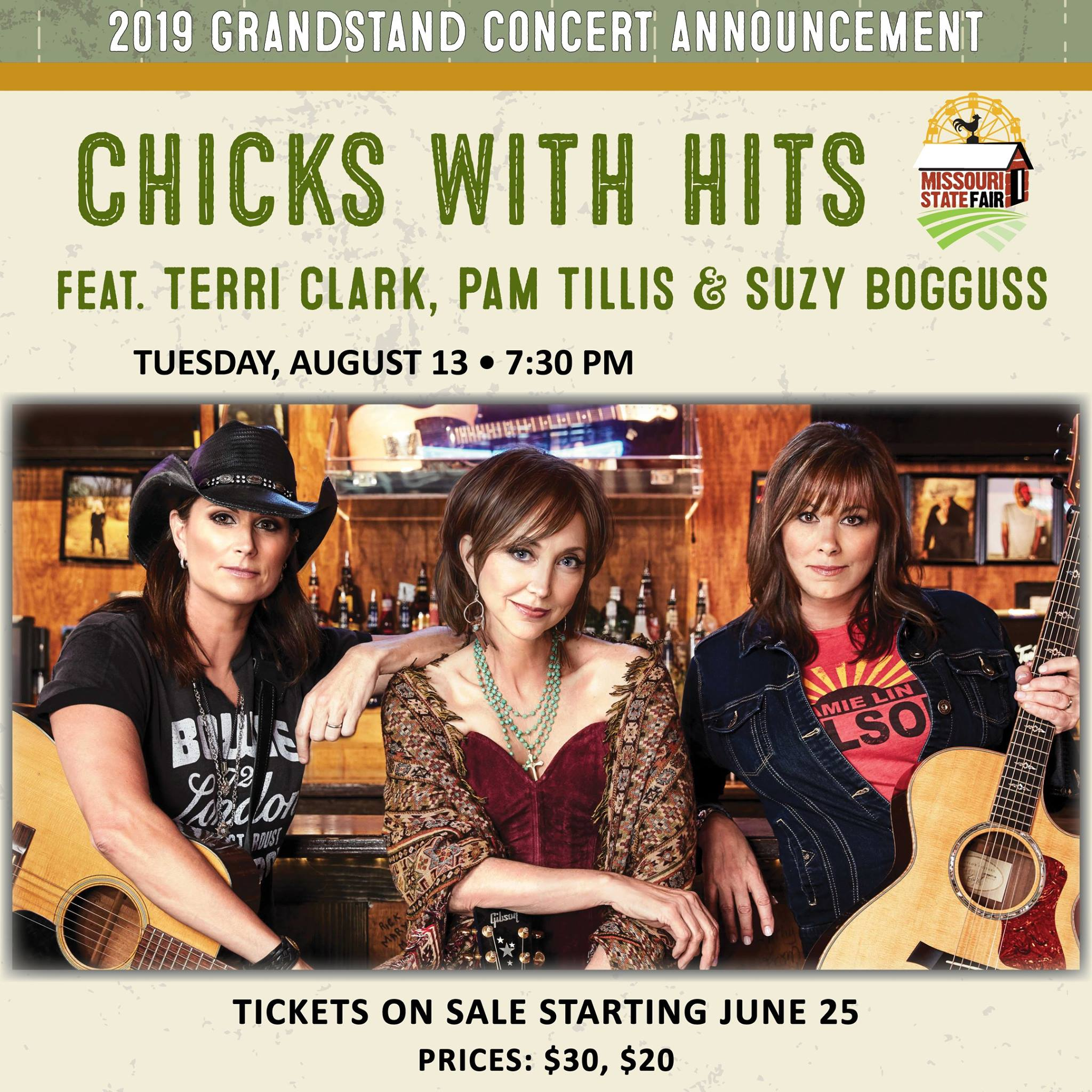 'Chicks with Hits' added to Missouri State Fair concert series