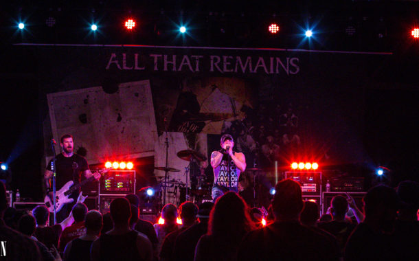Small crowd still means big show from All That Remains