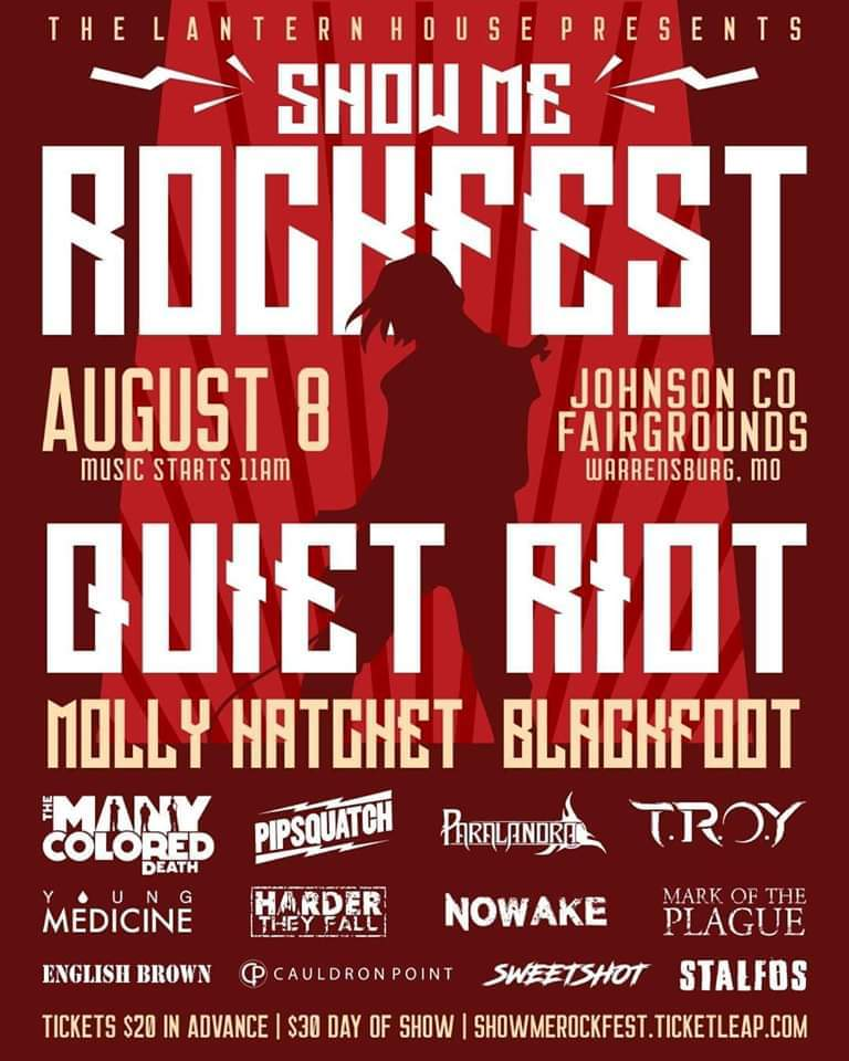 Show Me Rockfest coming to west central Missouri August 8